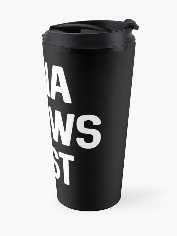Alternate view of gina knows best Travel Mug