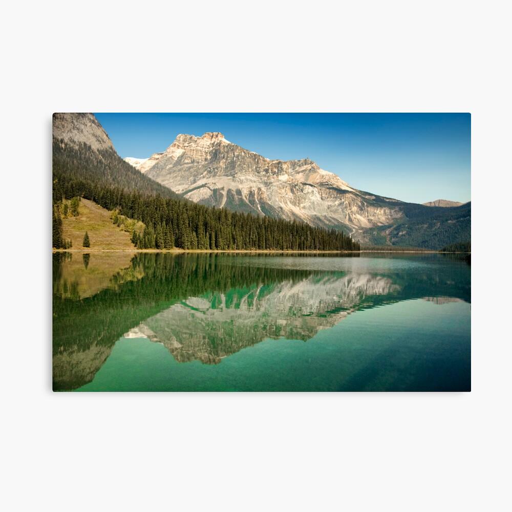 Emerald Lake Canvas Print