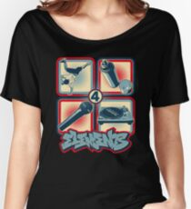 4 Elements of Hip Hop Women's Relaxed Fit T-Shirt