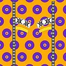 «Inspirado en la impresión africana - Amarillo» de BHueman