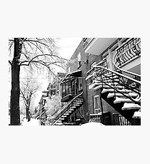 WinterStaircases Photographic Print