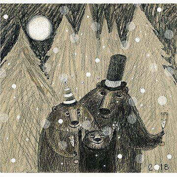 Happy Bear New Year! by mariannat