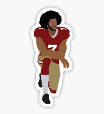 Colin Kaepernick Kneeling Sticker