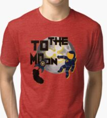 Ripple To The Moon Reddit Tri-blend T-Shirt
