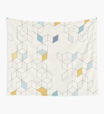 Keziah - Tag x Skandinavisches geometrisches Muster Wandbehang