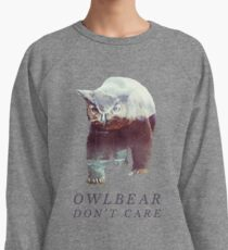 Owlbear Don't Care Lightweight Sweatshirt