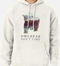 Sudadera con capucha Owlbear no importa