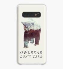 Owlbear Don't Care Case/Skin for Samsung Galaxy