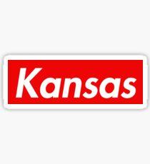 University of Kansas Supreme Logo Sticker