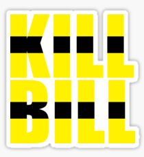 Kill Bill Sticker