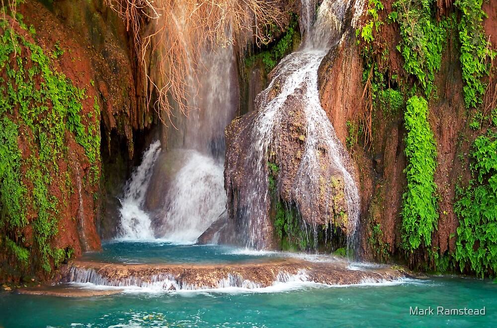 Navajo Falls by Mark Ramstead