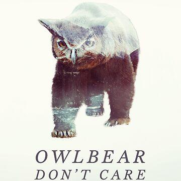 Owlbear Don't Care by andywynn