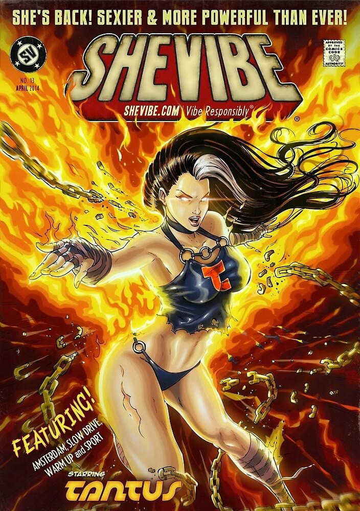 SheVibe Presents Tantus! Phoenix Rising Cover Art  by shevibe