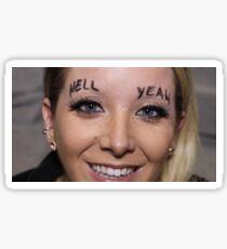Jenna Marbles - hell yEAH Sticker