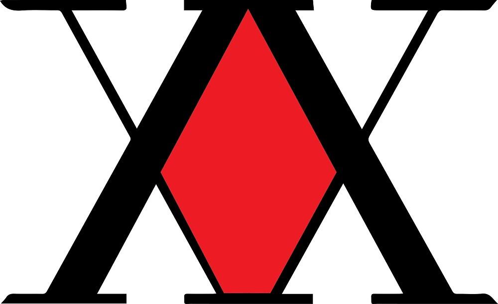 Hxh logo quot by bktechnite redbubble