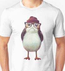 Hipster Porg Unisex T-Shirt