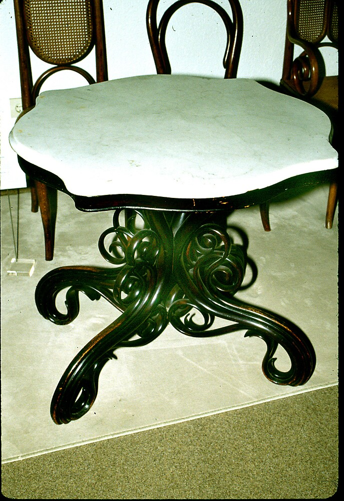 Thonet Marbletopped Table. by cjkuntze