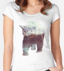 Owlbear Women's Fitted Scoop T-Shirt