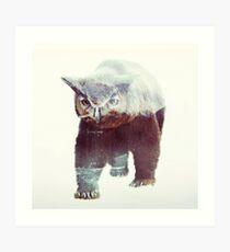 Owlbear Art Print