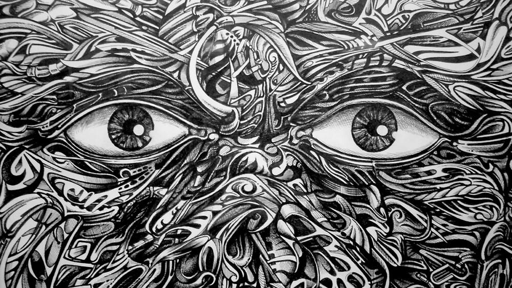 Gray Matter...  detail by Sam Dantone
