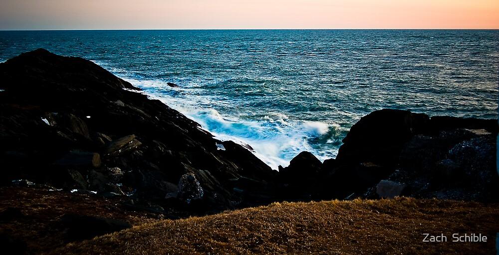 Ocean Clash by Zach  Schible