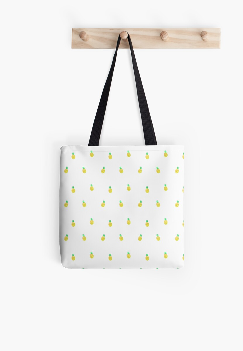 Pineapple Pattern by JustTheBeginning-x .com