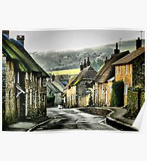 Abbotsbury, Down the Hill Poster