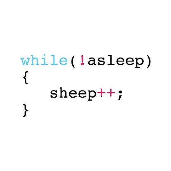 Schlaf im Programmierstil von KeepOnCoding