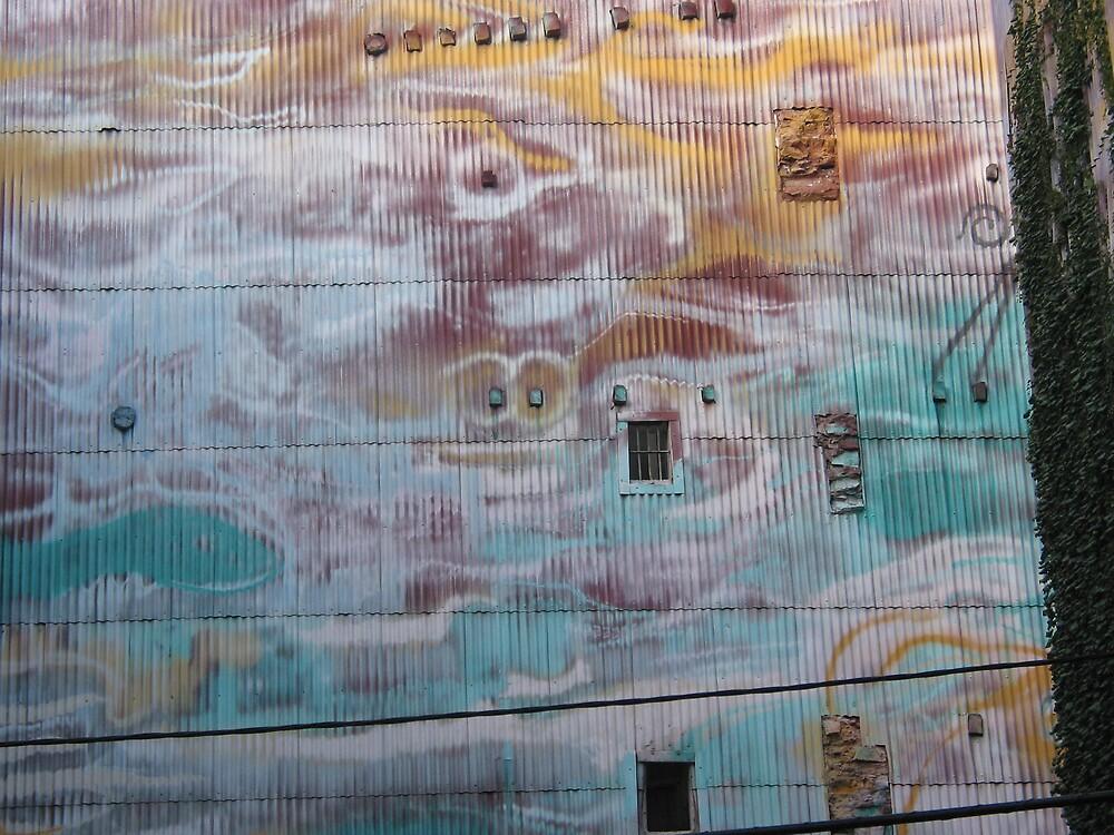 graffitti wall 1- Barcelona by mickpro