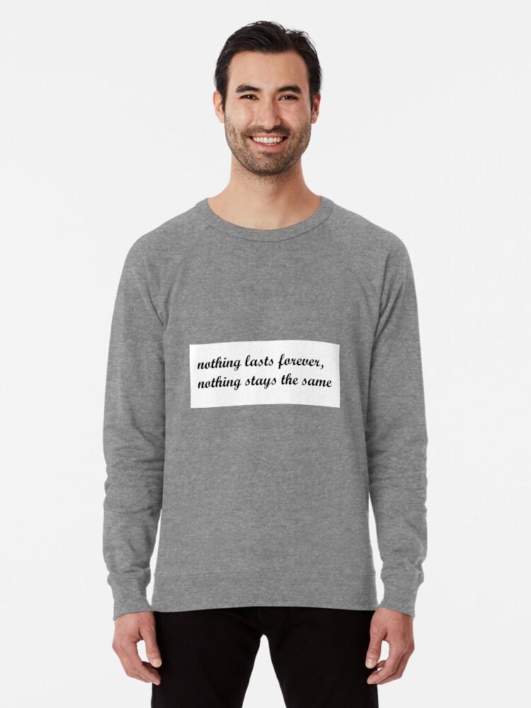 '5SOS Wherever You Are Lyrics' Lightweight Sweatshirt by danielamassaro