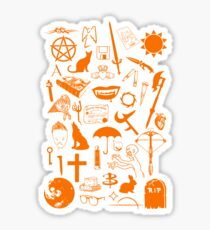 Buffy Symbology, Orange Sticker
