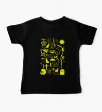 Buffy Symbology, Yellow Baby Tee
