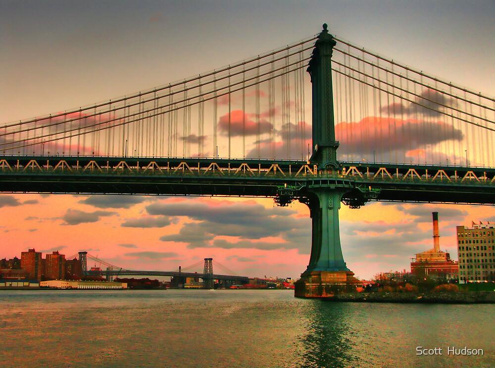 Manhattan Bridge by Scott  Hudson