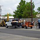 Repairing The Parking Lot by R&PChristianDesign &Photography