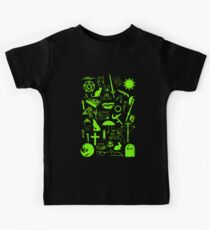 Buffy Symbology, Green Kids Tee