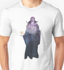 Mind Flayer (Illithid) Dnd /D&D / Dungeons and Dragons Double Exposure Modern Art Unisex T-Shirt