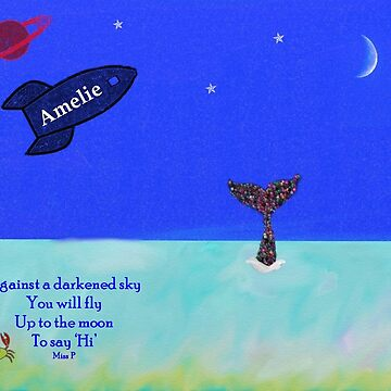 Amelie - fly me to the moon by myfavourite8