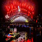What A Blast - Sydney NYE 2017 by Philip Johnson
