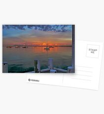 Sunrise at Cameron's Bight Beach, Mornington Peninsula, Victoria, Australia Postcards