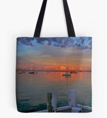 Sunrise at Cameron's Bight Beach, Mornington Peninsula, Victoria, Australia Tote Bag