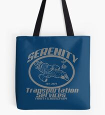 Serenity transportation services Tote Bag