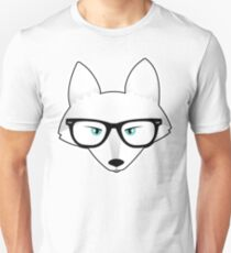 Arctic Fox with Glasses T-Shirt