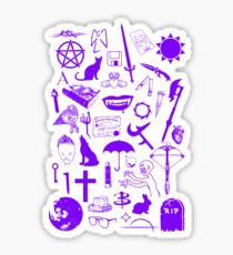 Buffy Symbology, Purple Sticker