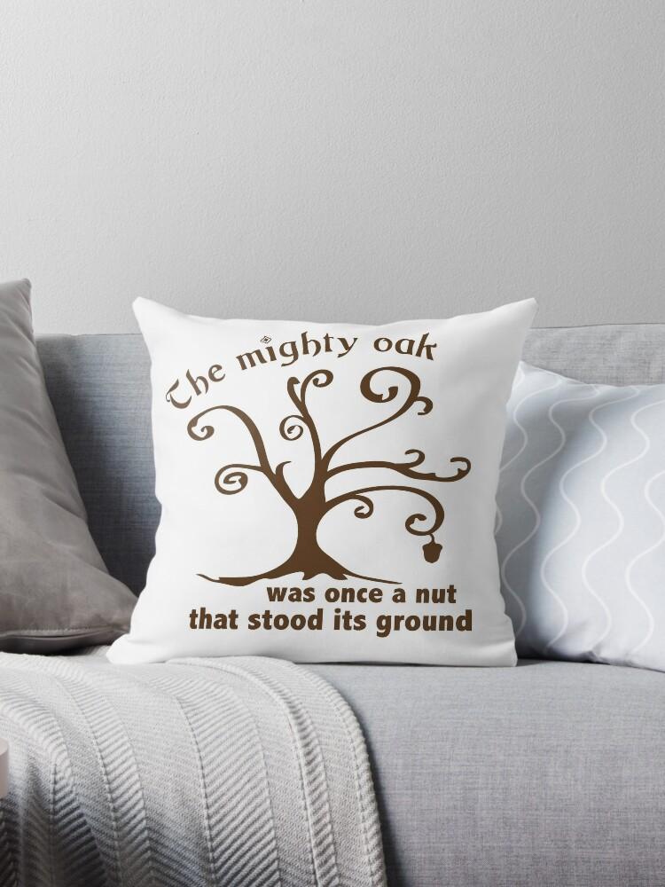 Mighty Oak Tree by Christy Stauffenberg