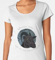 Black Phillip, Black Phillip  Women's Premium T-Shirt