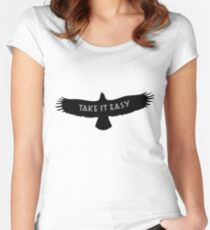 The Eagles - Take it Easy Women's Fitted Scoop T-Shirt