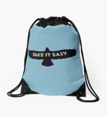 The Eagles - Take it Easy Drawstring Bag