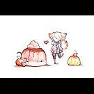 Pudding Love by bahgoesthesheep