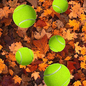 leafy tennis by happymigrane