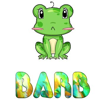 Barb Frog by Shirtiker
